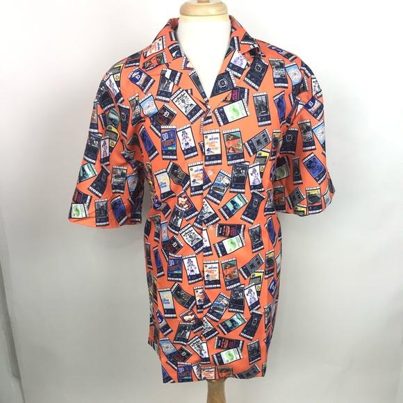 4184946c APC Shirts | Detroit Tigers Mens Baseball Ticket Hawaiian Shirt ...